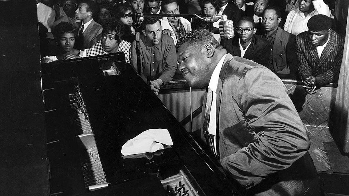 Sångaren och musikern Fats Domino 01 jan 1960