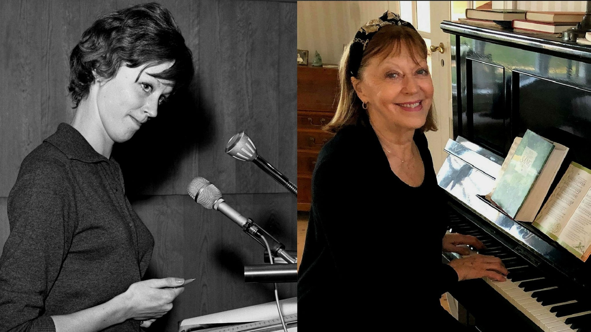 Hör Lill Lindfors i Tio i Topp från 1962 samt en färsk intervju där hon berättar listminnen!