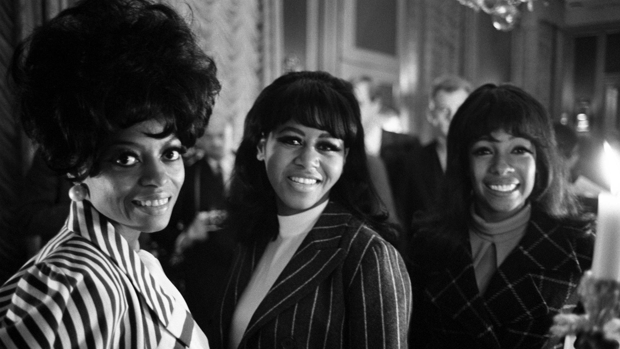 The Supremes hörs bland utmanarna i Tio i Topp 14 november 1964