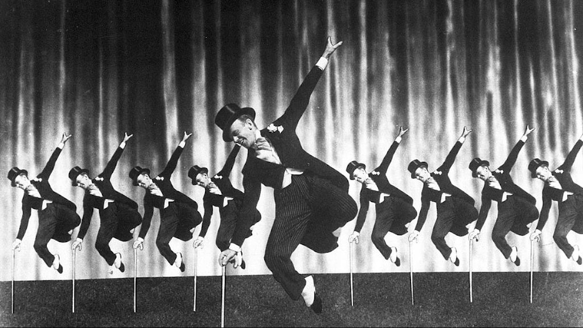 """Fred Astaire i filmen """"Top Hat"""" 1936"""