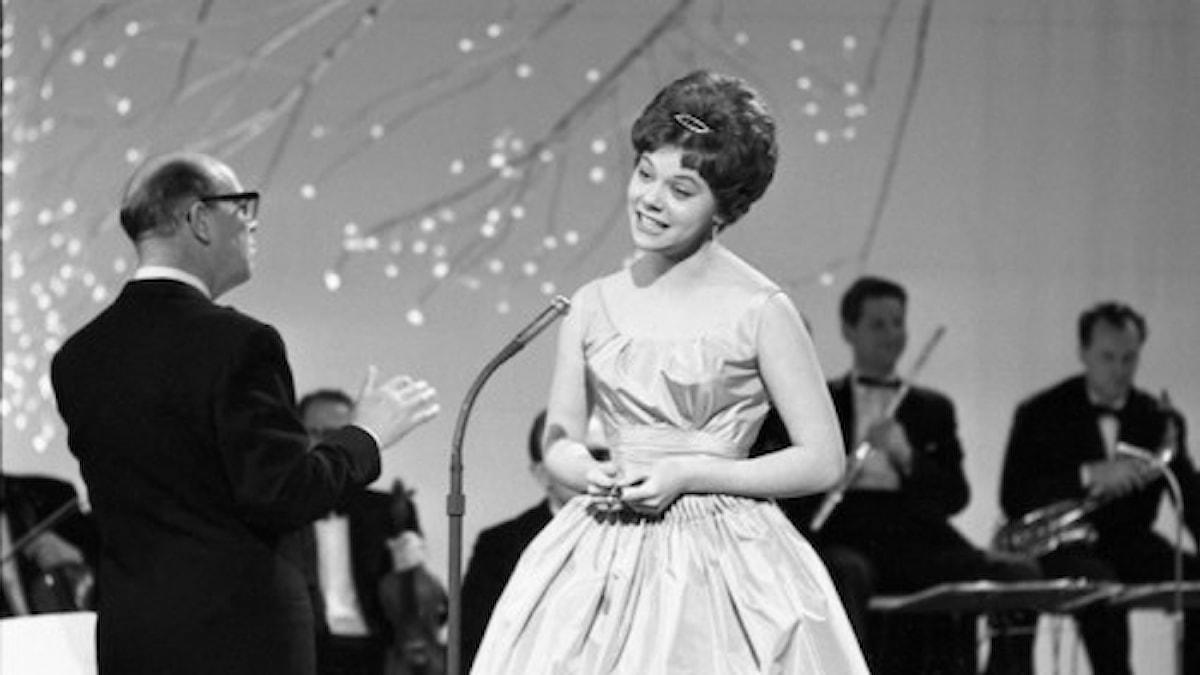 Mona Grain i melodifestivalen 1960