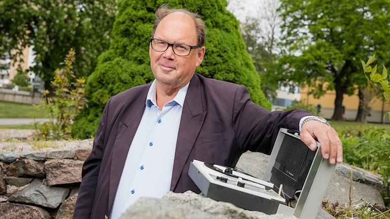 Leif Eriksson, projektledare och programledare för P4 Plus. Foto: Mattias Ahlm/Sveriges Radio