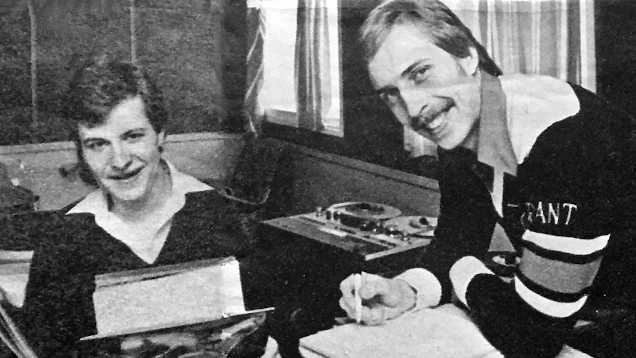 Rolf Arsenius och Olle Dahlquist