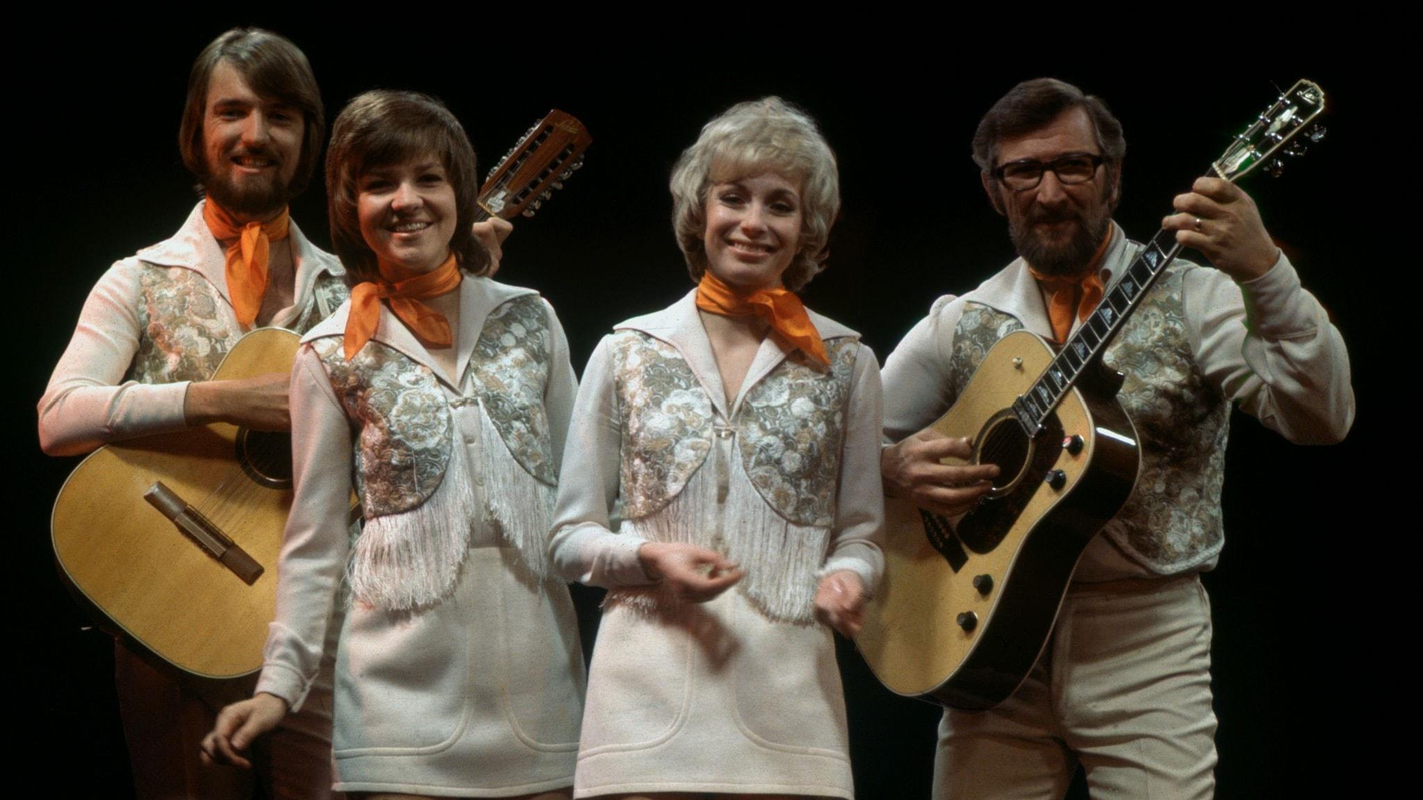Family Four och Lena Andersson i dubbel dos på Svensktoppen den 6 juni 1971