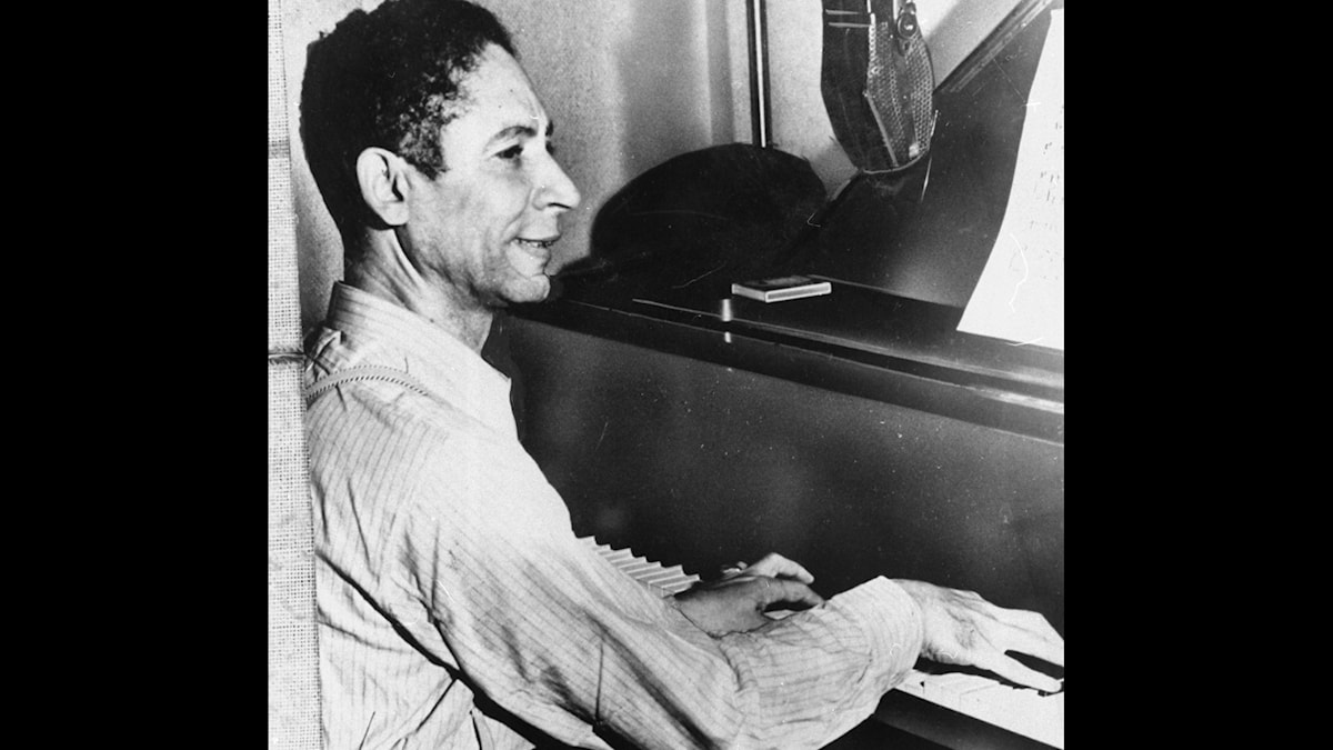 Jelly Roll Morton, who came from a Creole family in New Orleans, performs in 1938 in Washington