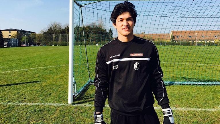 Mahmud Bakhshi i fotbollsmålet