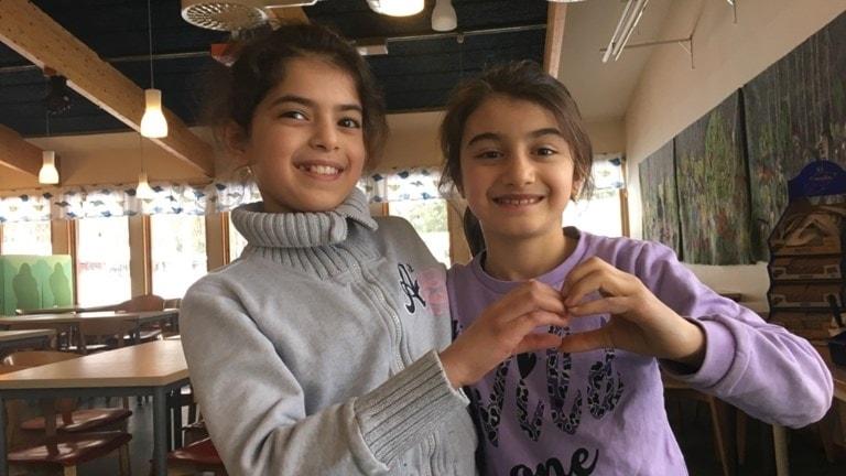 syriska klasskompisar i Gnesta