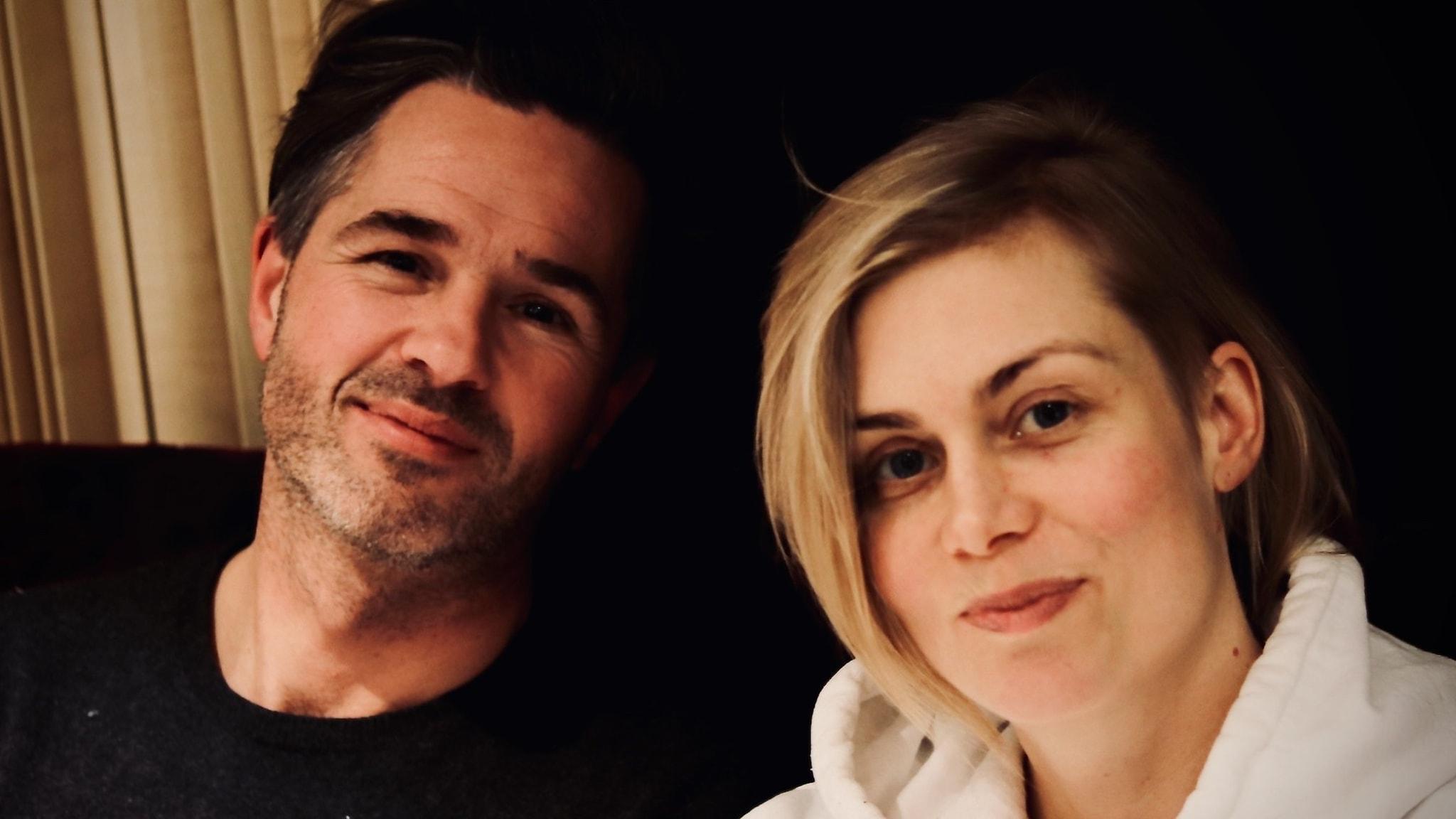 Peter Jöback och Anna Ternheim