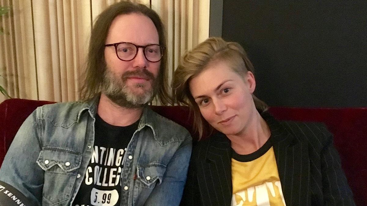 Niclas Frisk och Anna Ternheim