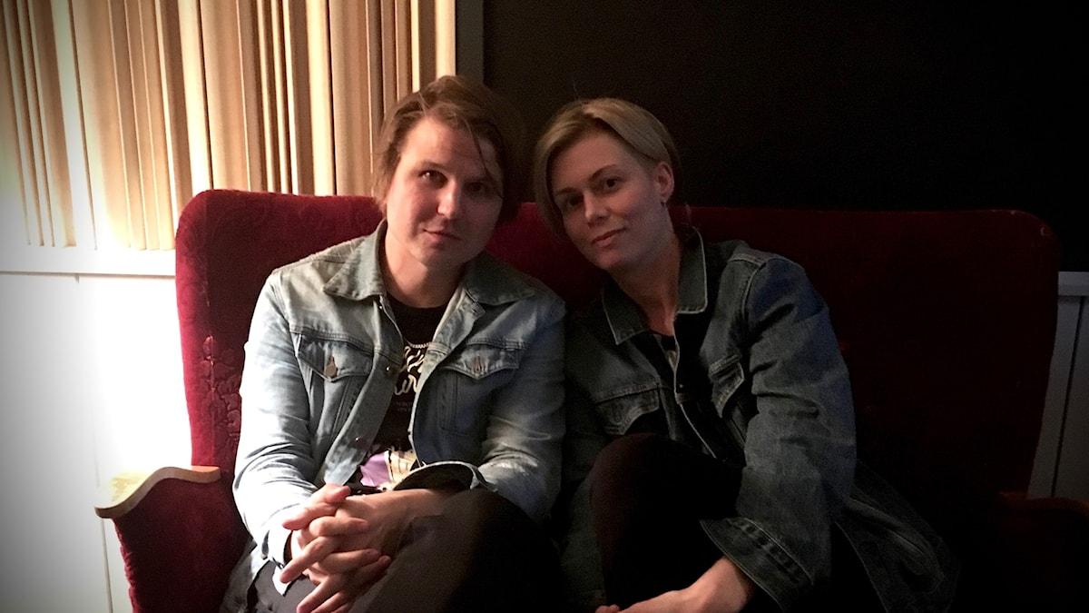 Markus Krunegård och Anna Ternheim