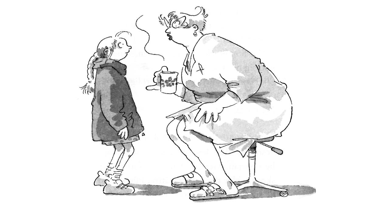 Frankensteinaren del 5. Illustratör: Christina Alvner