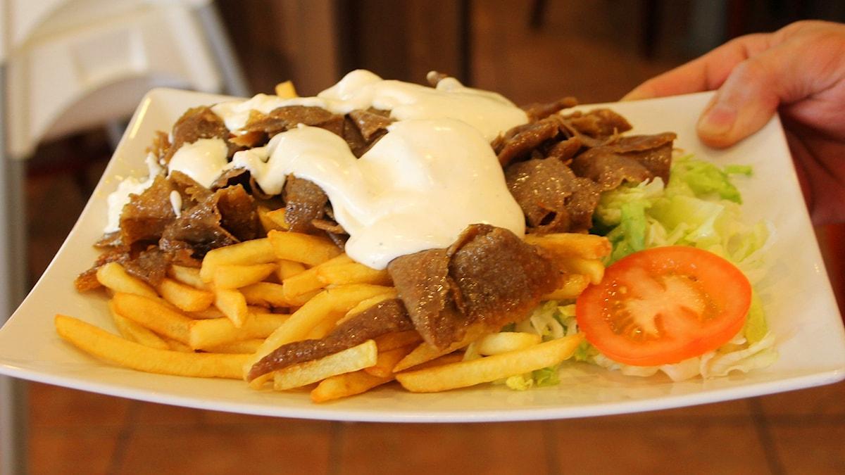 En kebabtallrik del 1