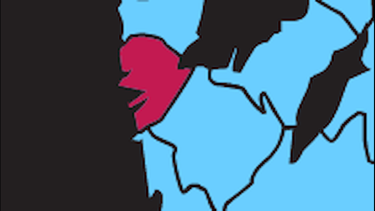 Karta P4 Göteborg