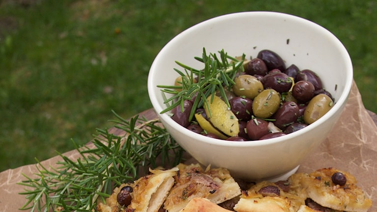 Snabbpiffade oliver