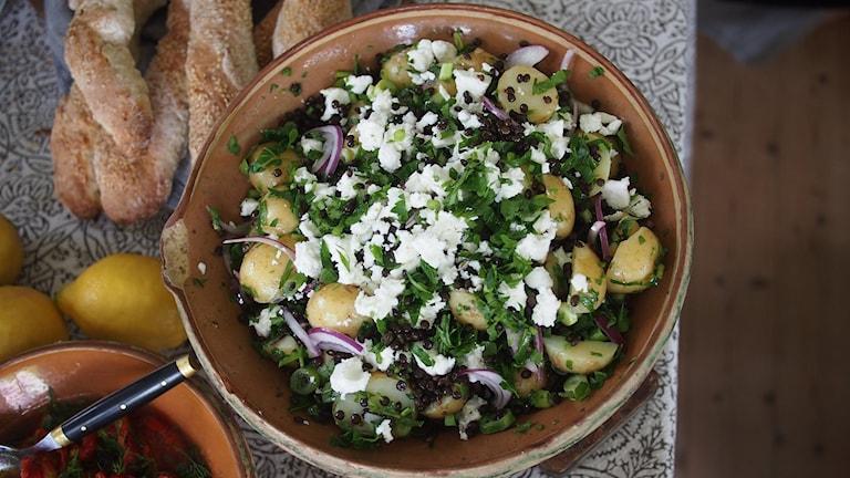 Bergenströms potatissallad. Foto: Emma Janke