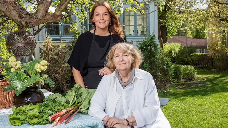 Fanny Bergenström och Anna Bergenström