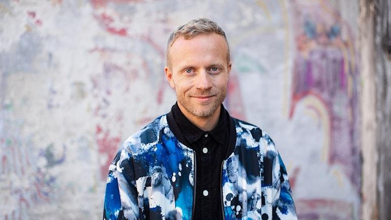 Steffen Renklint, programledare för Fråga vad du vill i P3.