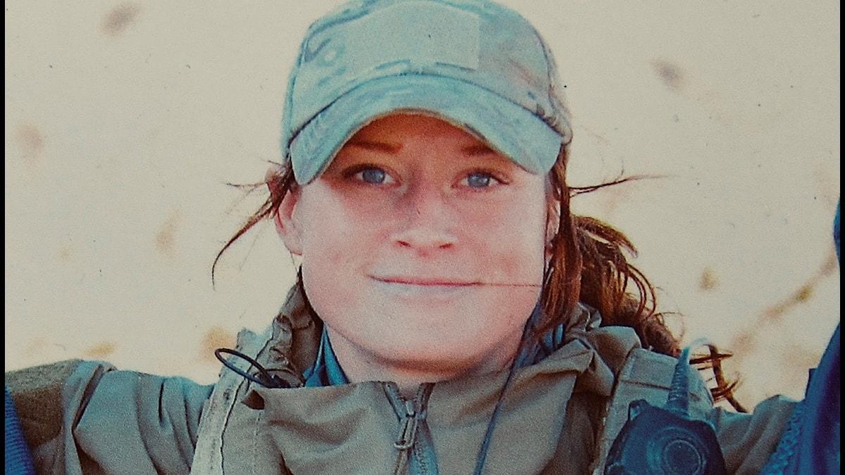 Petra Malm, operatör För försvarsmakten