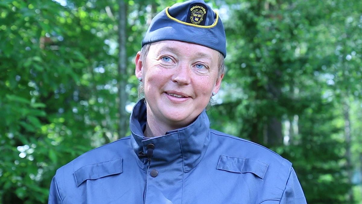 Ordningsvakt i uniform