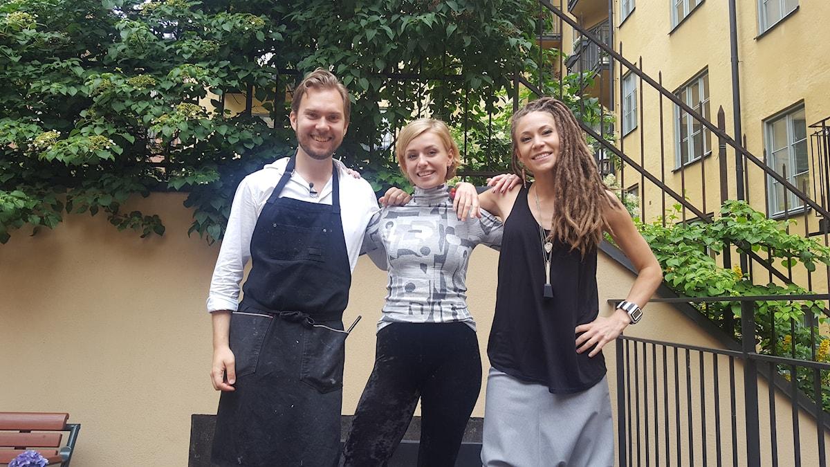 Gustav, Clara & Mariette