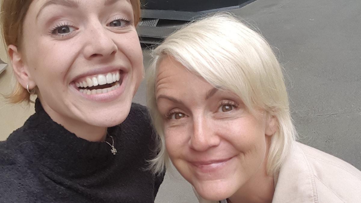 Clara och Karin!
