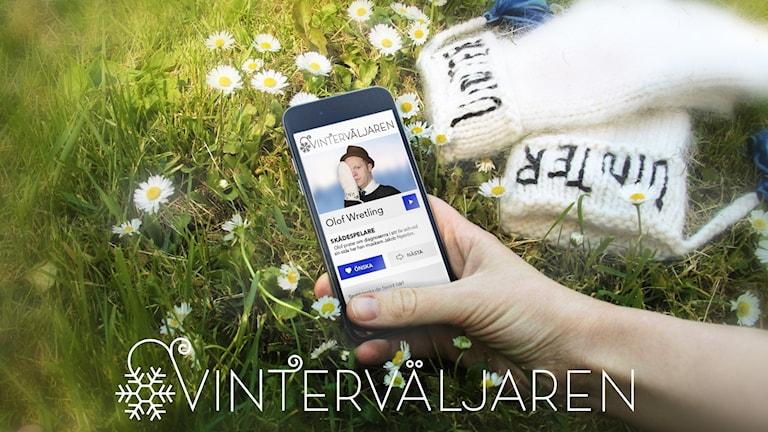 Vinterväljaren på en mobil med Olof Wretling
