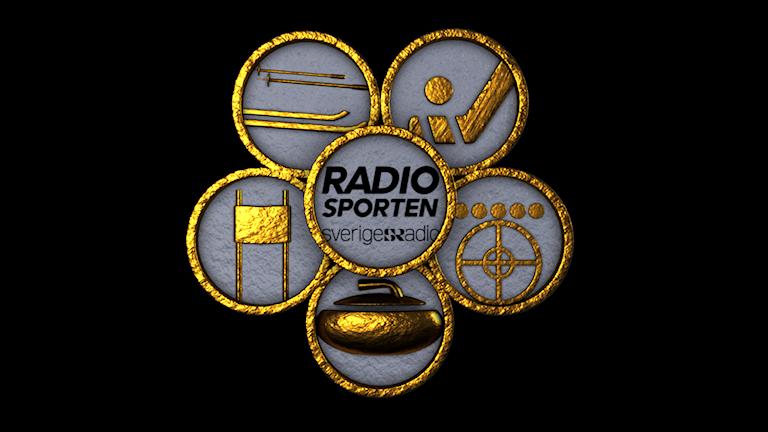 Digitala insatsstyrkan och Radiosportens logotyp för Vinter-OS i PyeongChang 2018