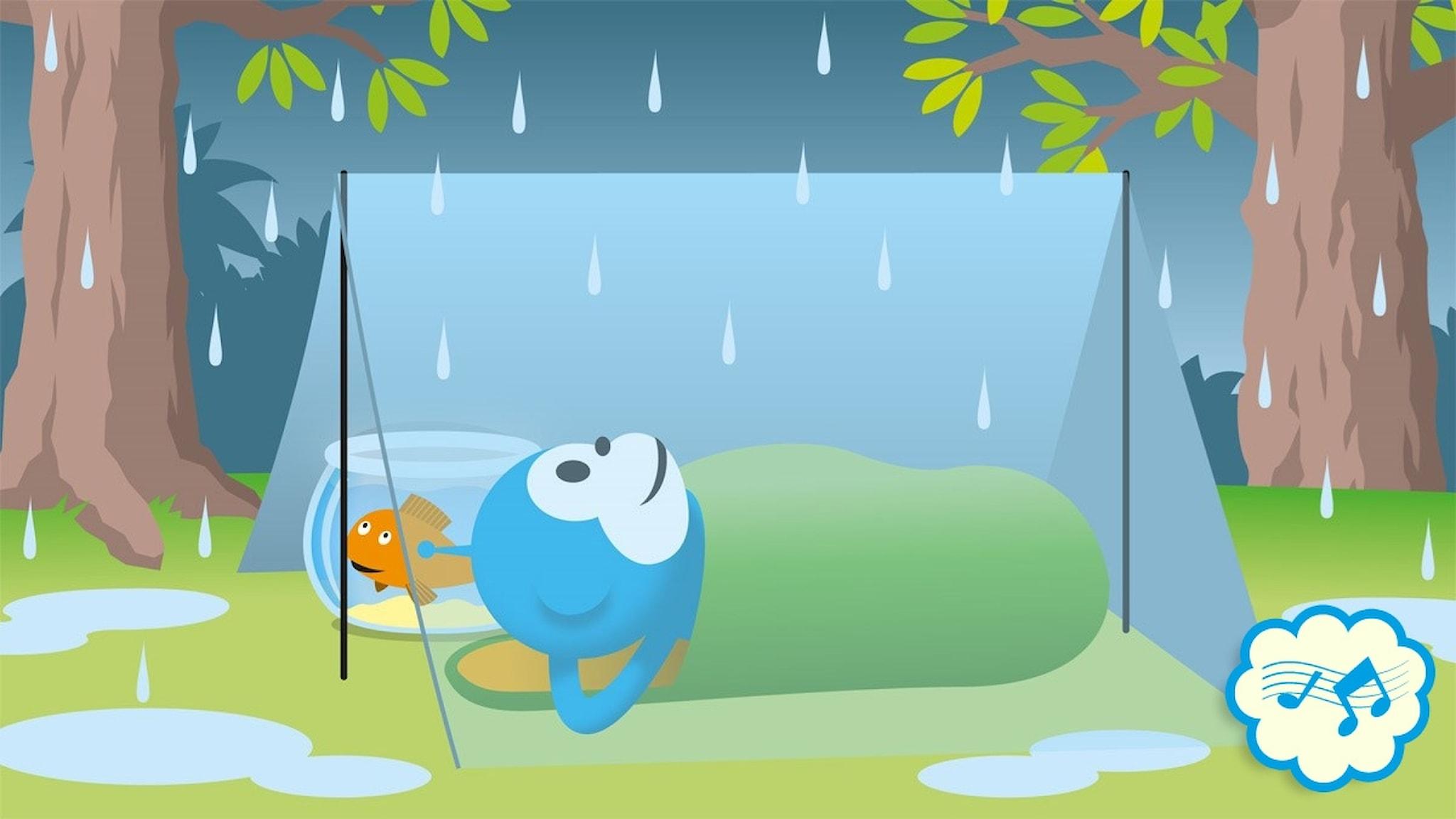 Radioapans vädersånger: Duggregn
