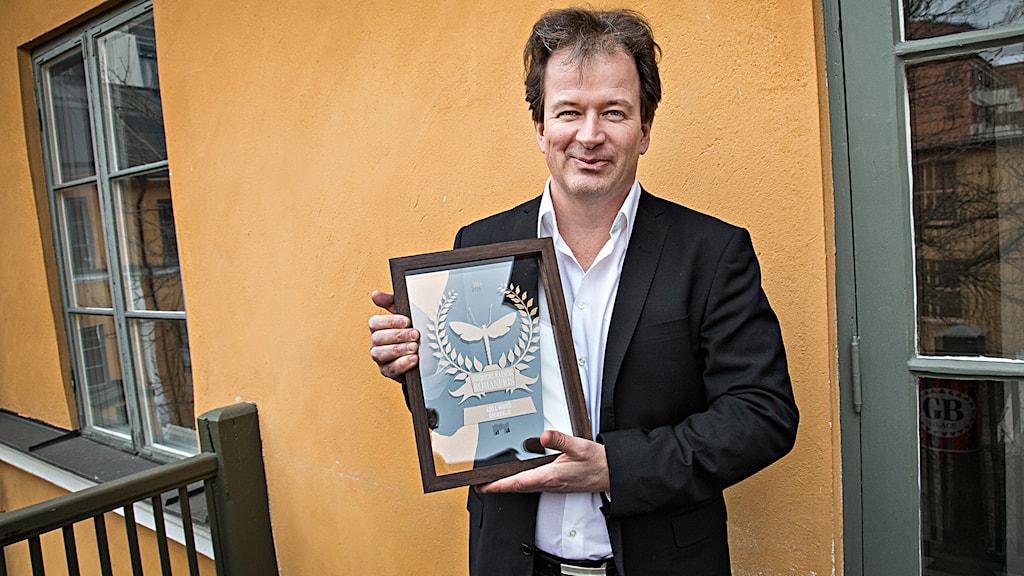 Kjell Westö. Foto: Martina Holmberg/Sveriges Radio.