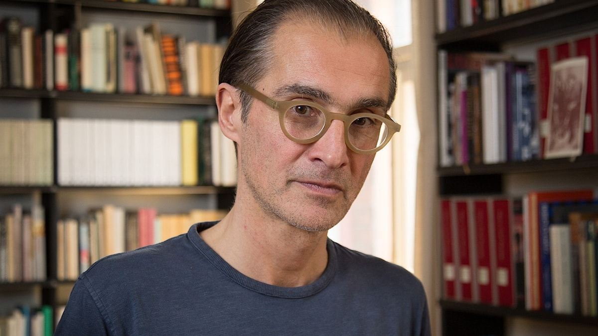 Aris Fioretos, vinnare av Sveriges Radios romanpris, 2016 Foto: Micke Grönberg/Sveriges Radio