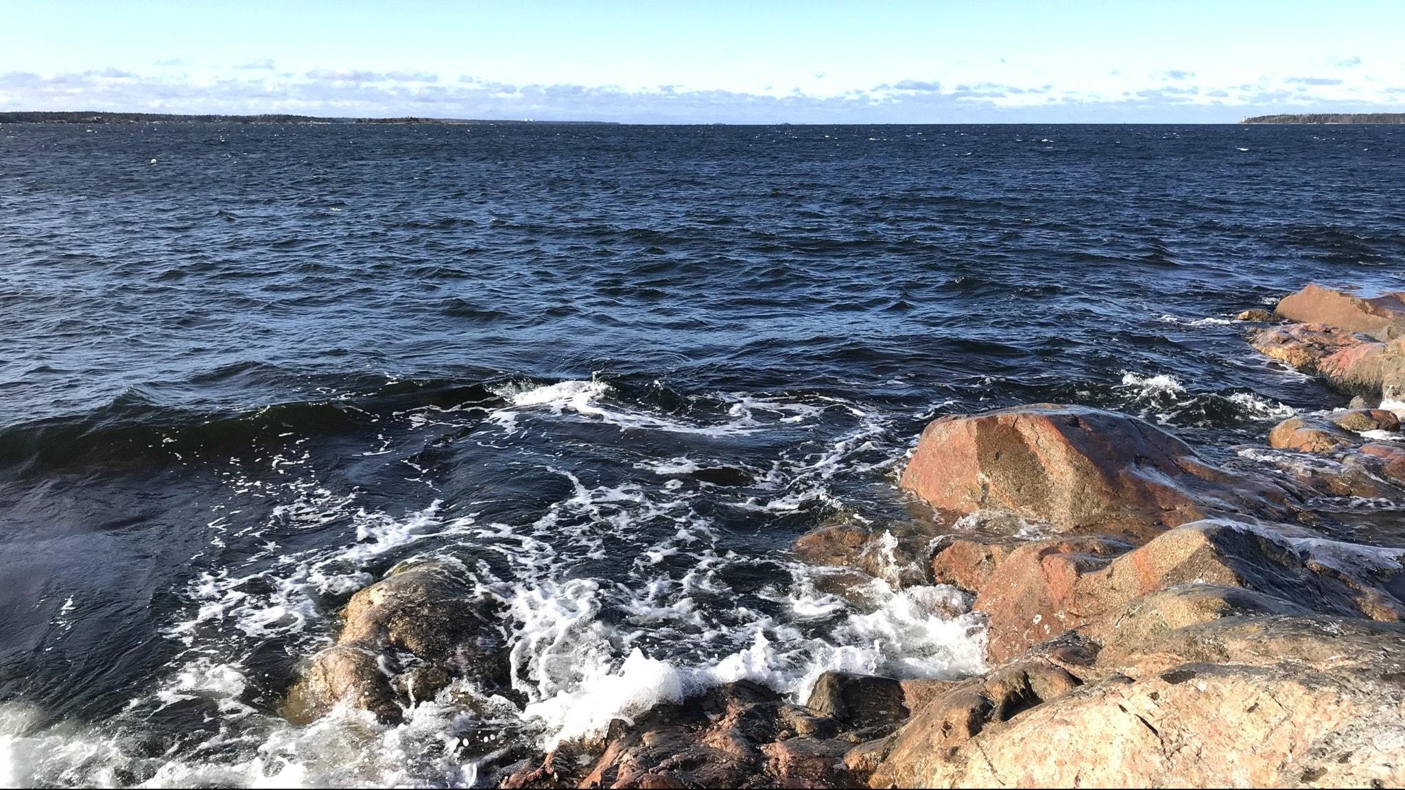 Itämeri Öregrund aallokko