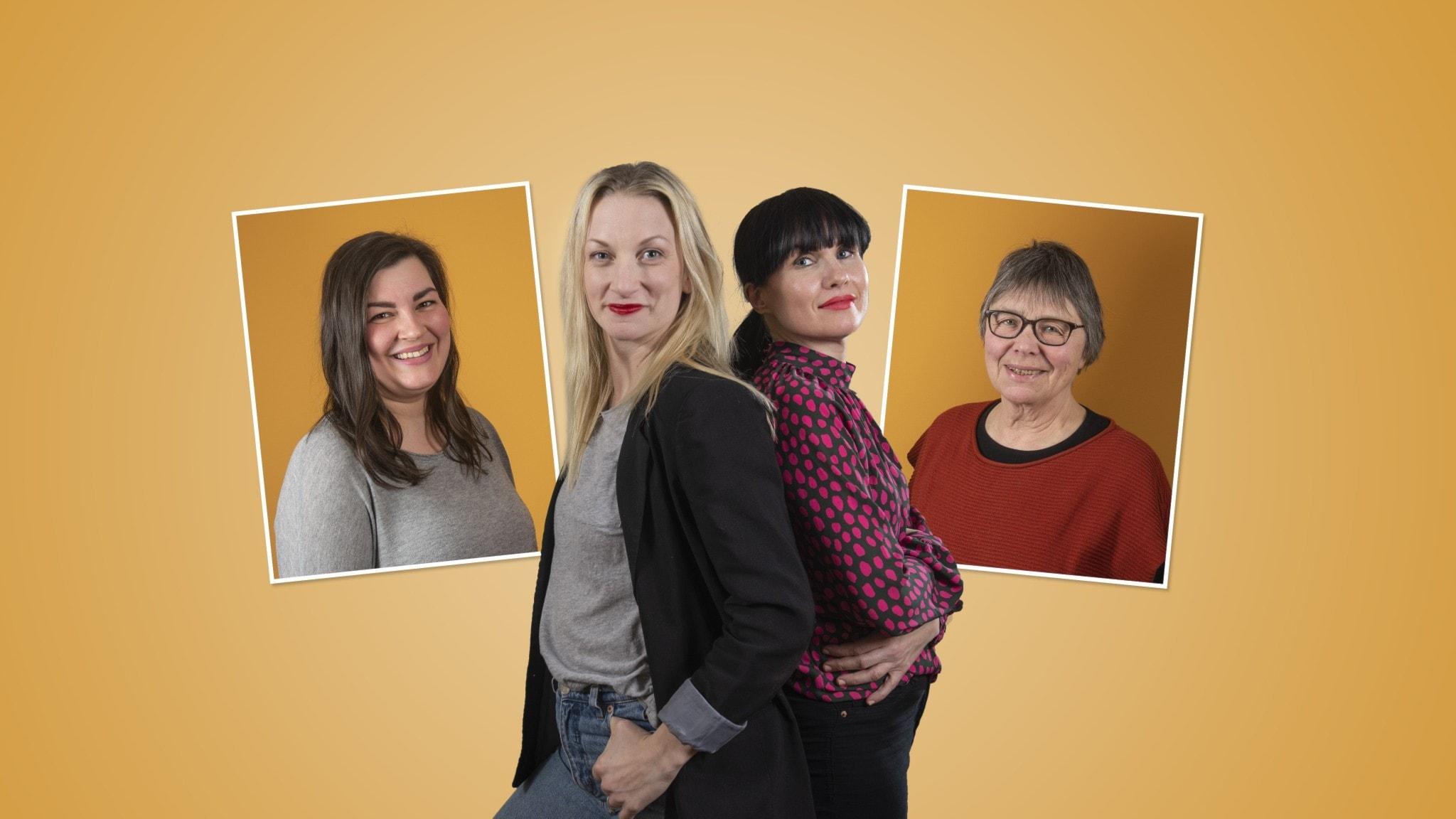 Vår flerspråkiga vardag:  Programledarna Hanna & Hanna med gästerna Jasmin Östlund och Ritva Norrby