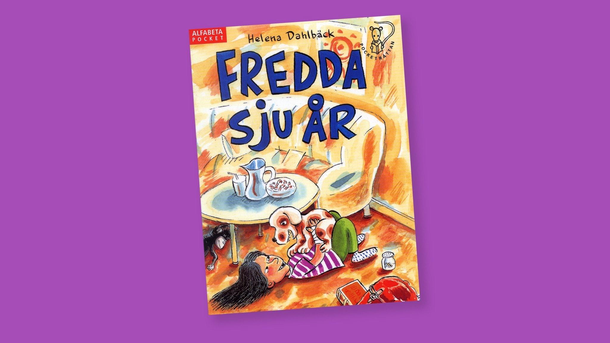 Bok: Fredda sju år. Av Helena Dahlbäck.