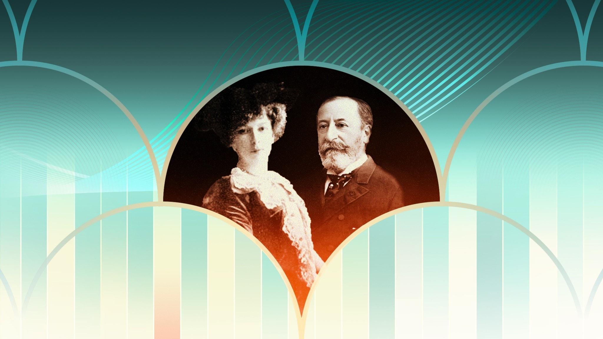 Camille Saint-Saëns och Cécile Chaminade