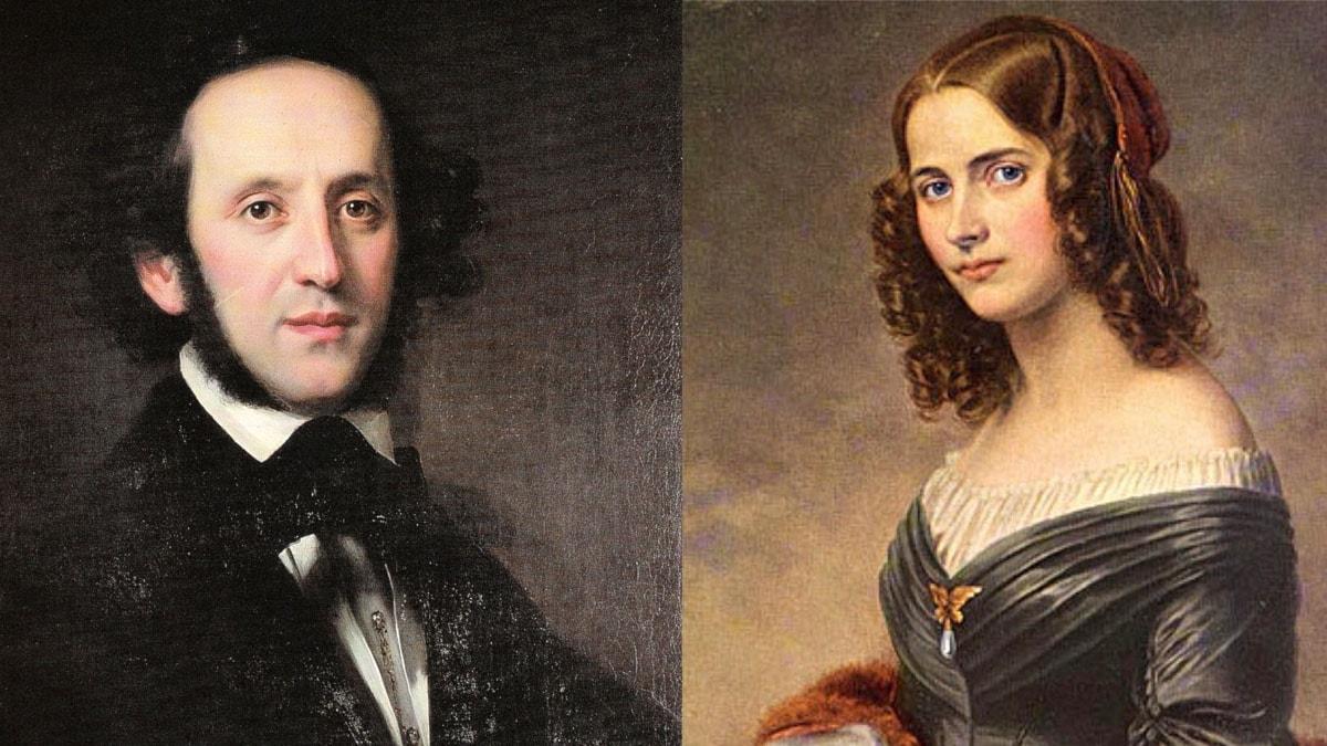 Fanny och Felix Mendelssohn