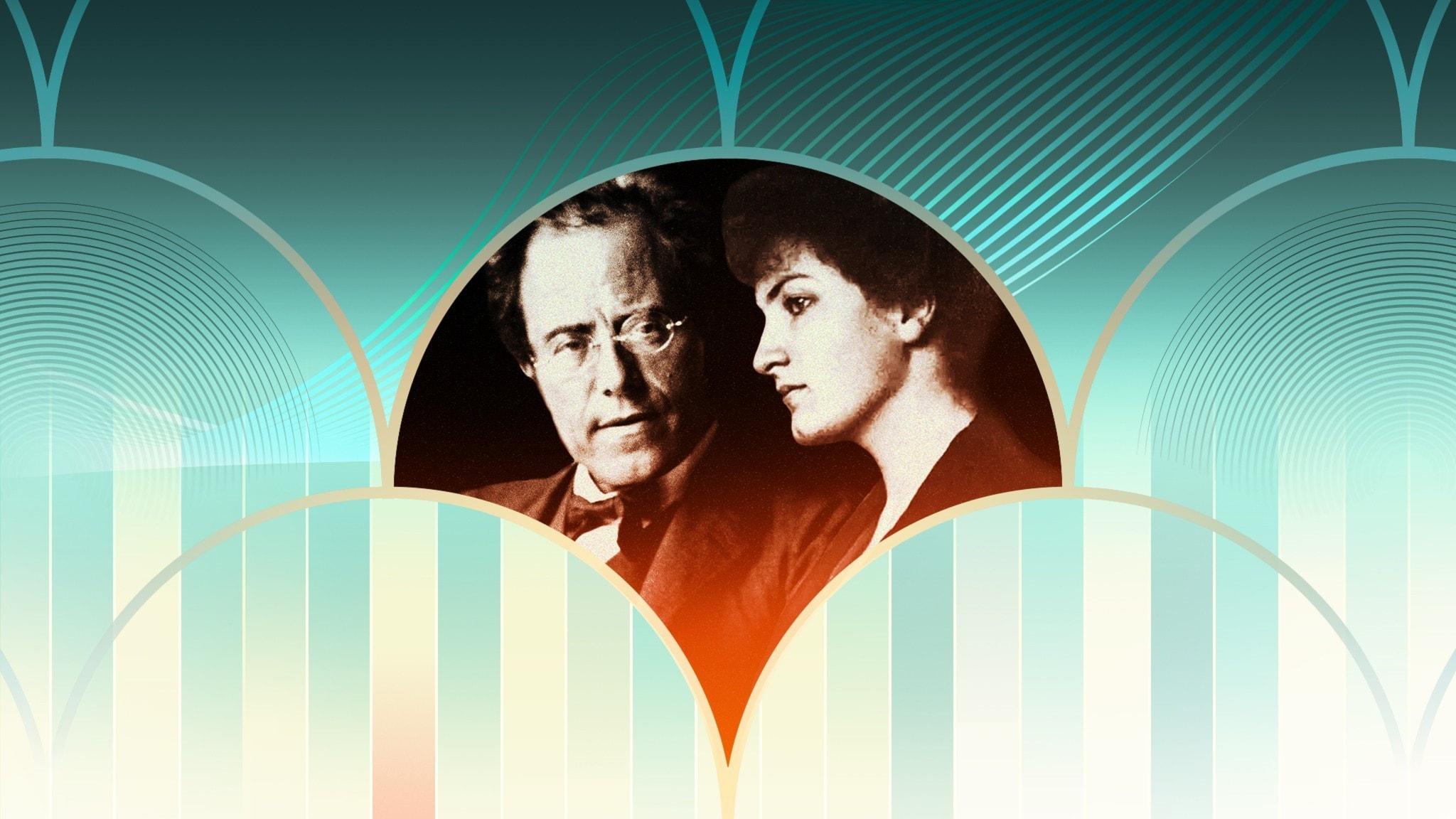 Gustav och Alma Mahler