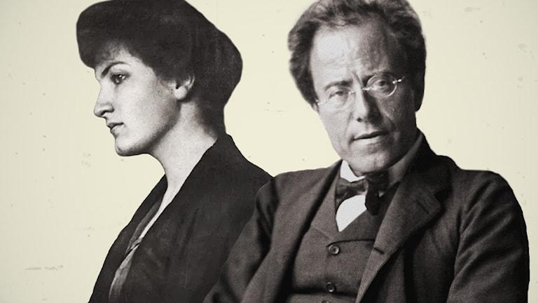 Alma och Gustav Mahler