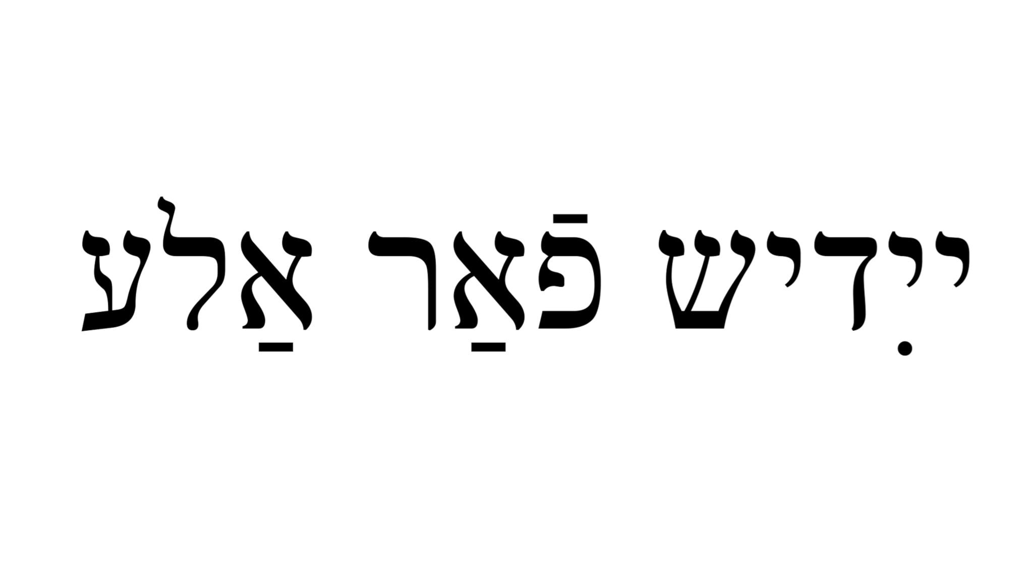 Programbild för Jiddisch far alle