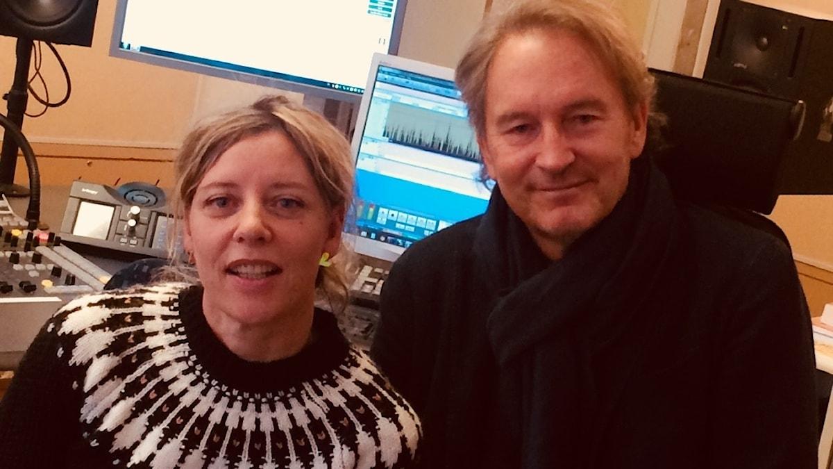 Katherine Zimmerman och Tomas Ledin