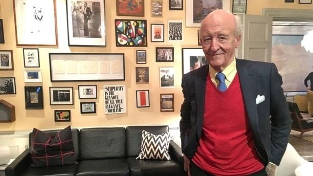 Ian Wachtmeister på sitt kontor