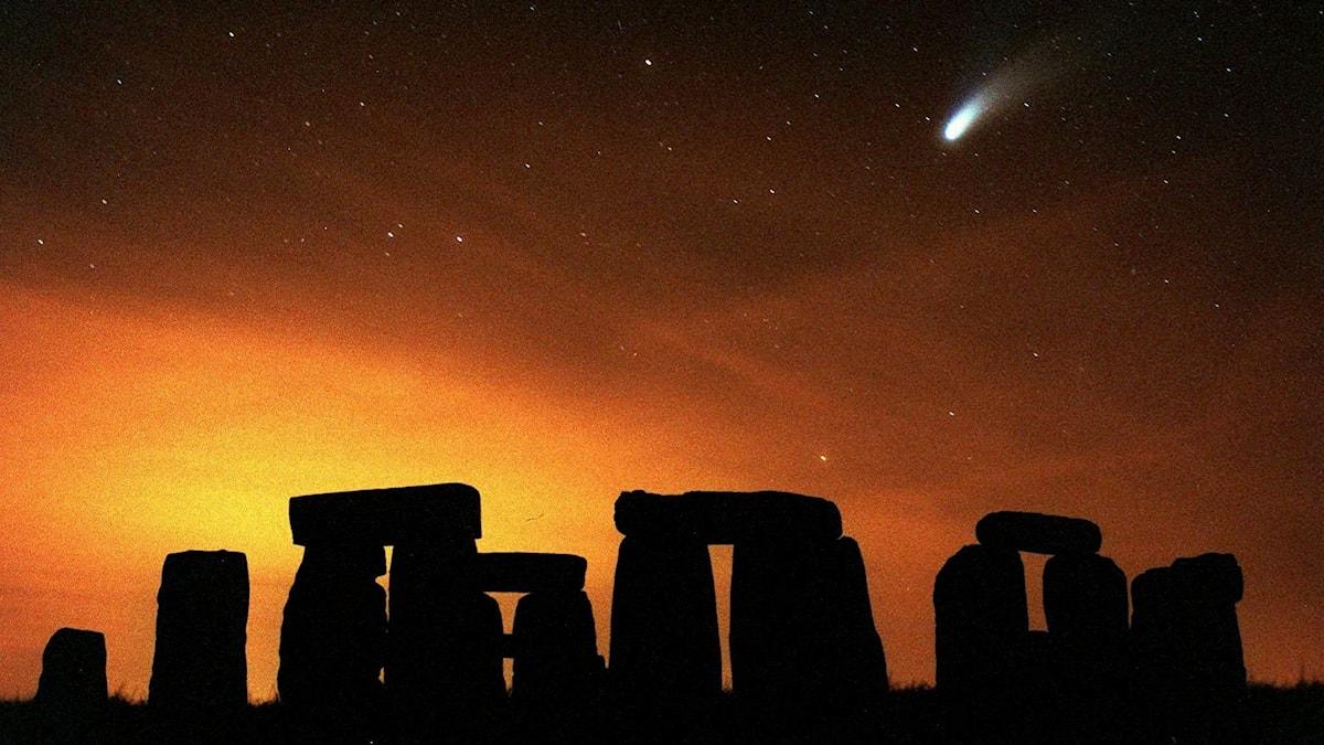 Kometen Hale-Bopp.
