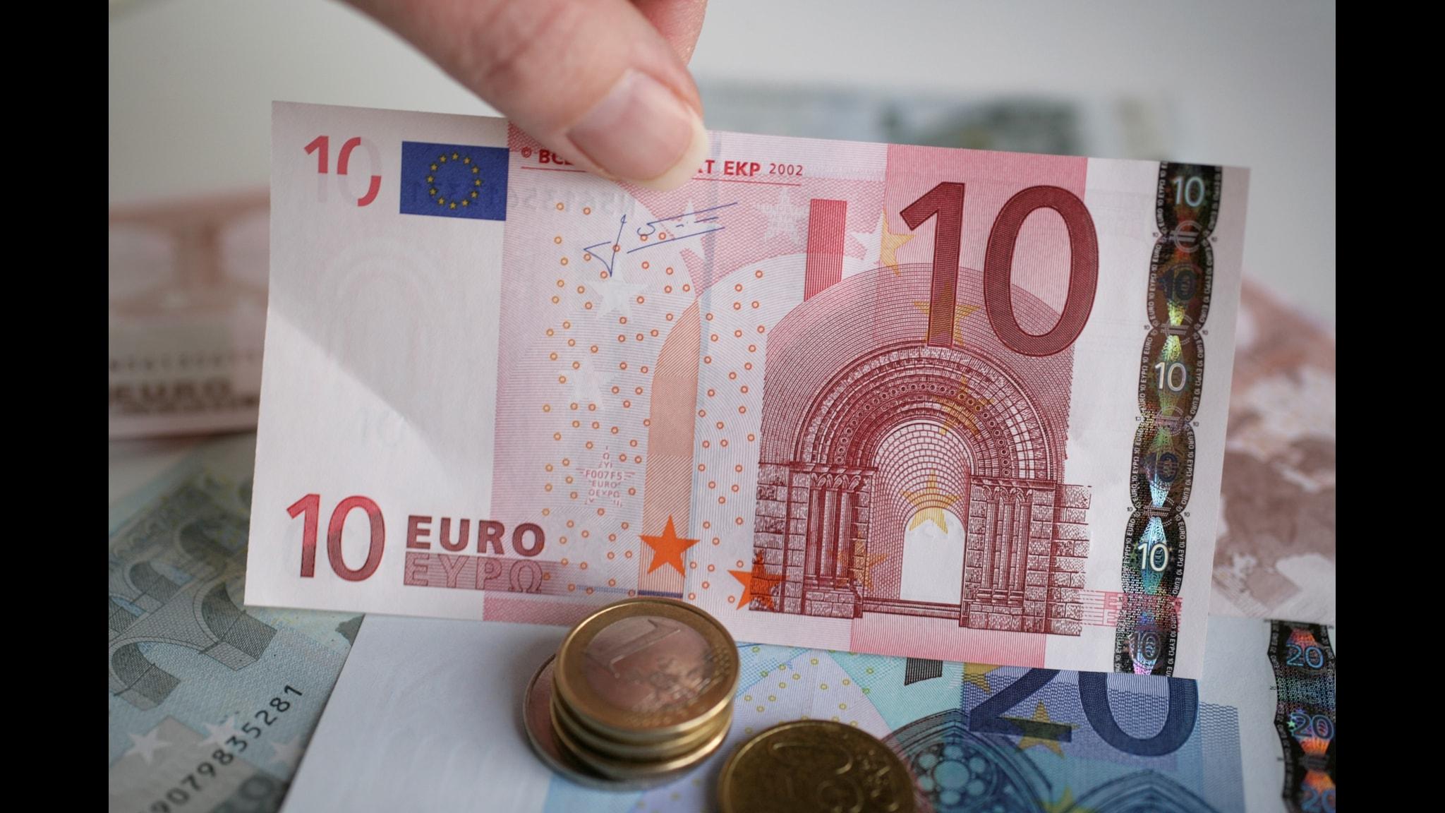 """""""Tvärtemot vad många tror, föreställer bilderna på eurosedlarna inte alls kända byggnader ur Europas historia."""""""