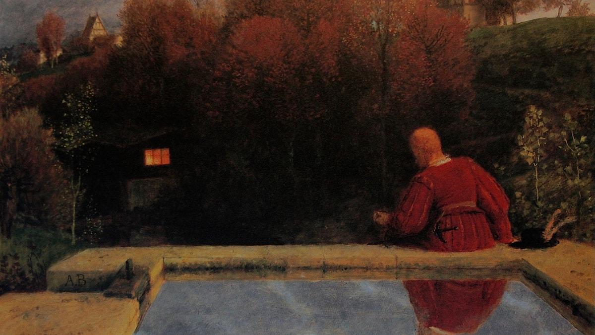 """Arnold Böcklins """"Die Heimkehr"""", 1887."""