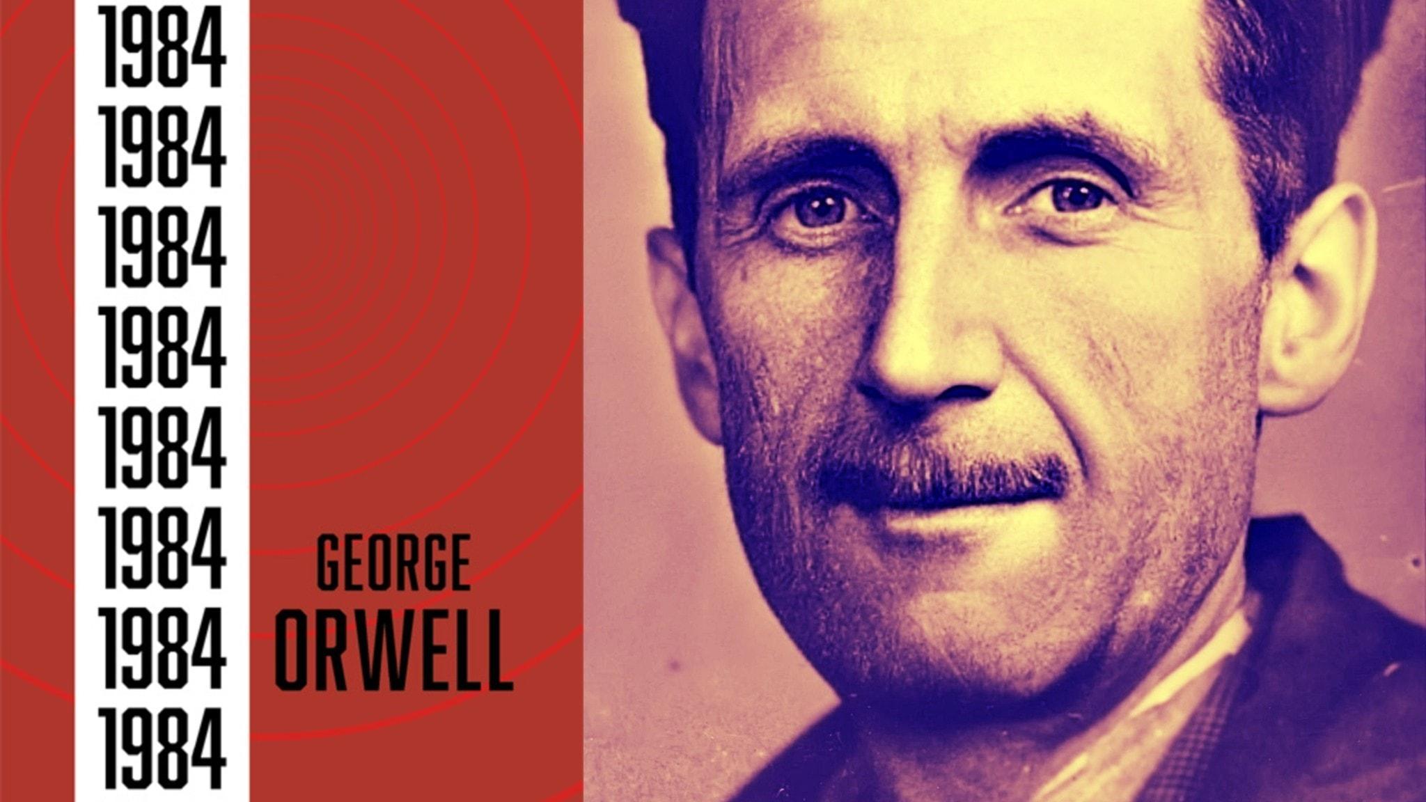 """Orwells roman""""Nineteen Eighty-Four"""" publicerades den 8 juni 1949. Författaren dog den 21 januari året efter."""
