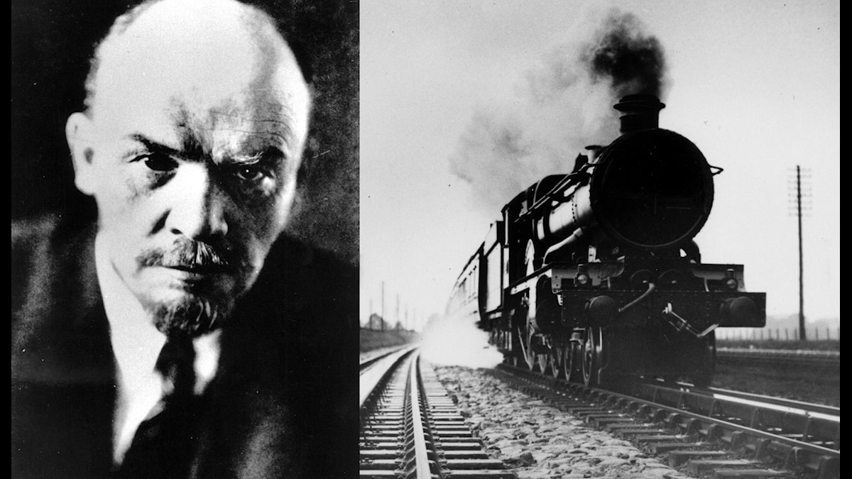 Lenin reste genom Sverige 12–16 april 1917.