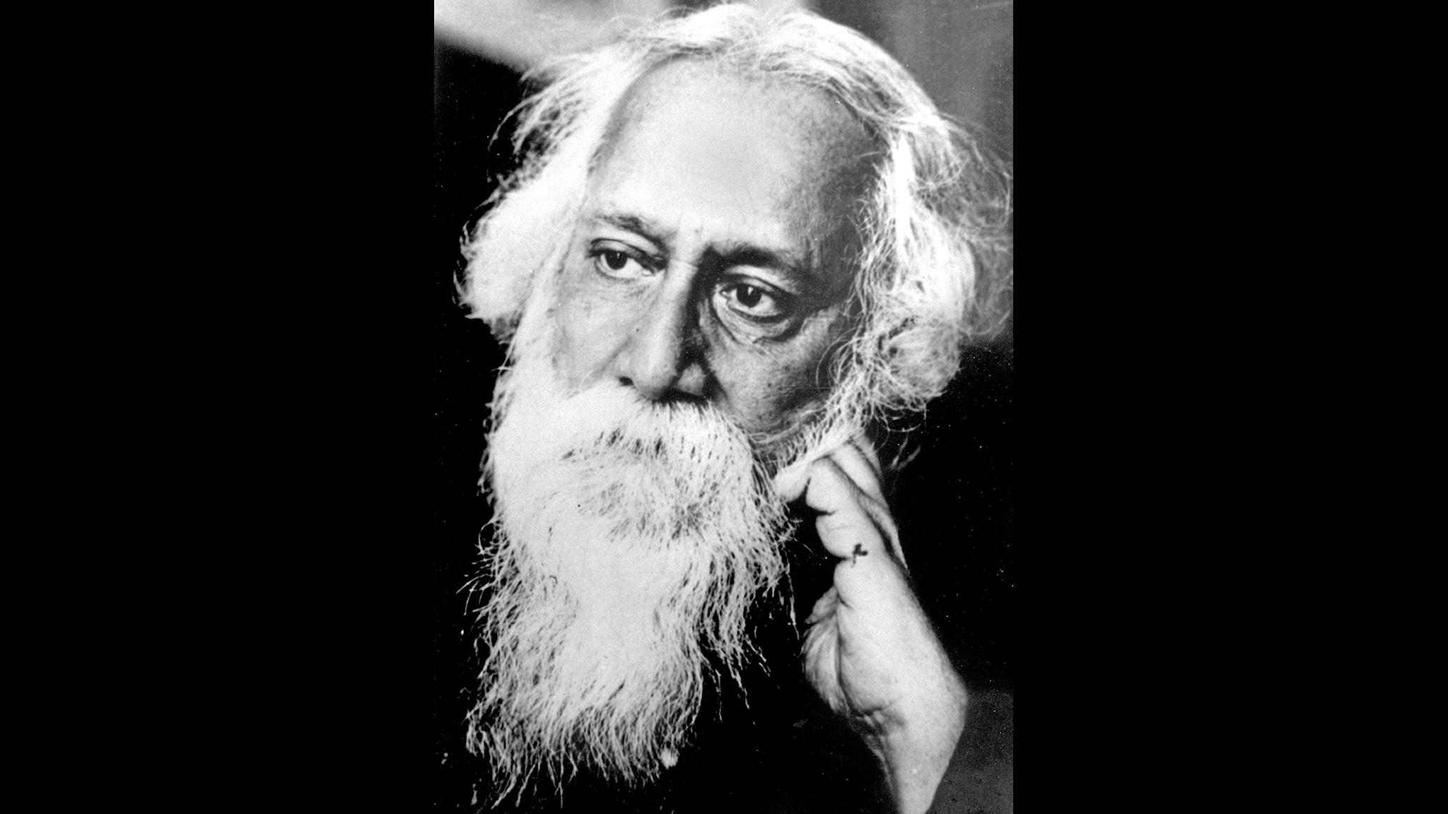 Rabindranath Tagore. Foto: Scanpix