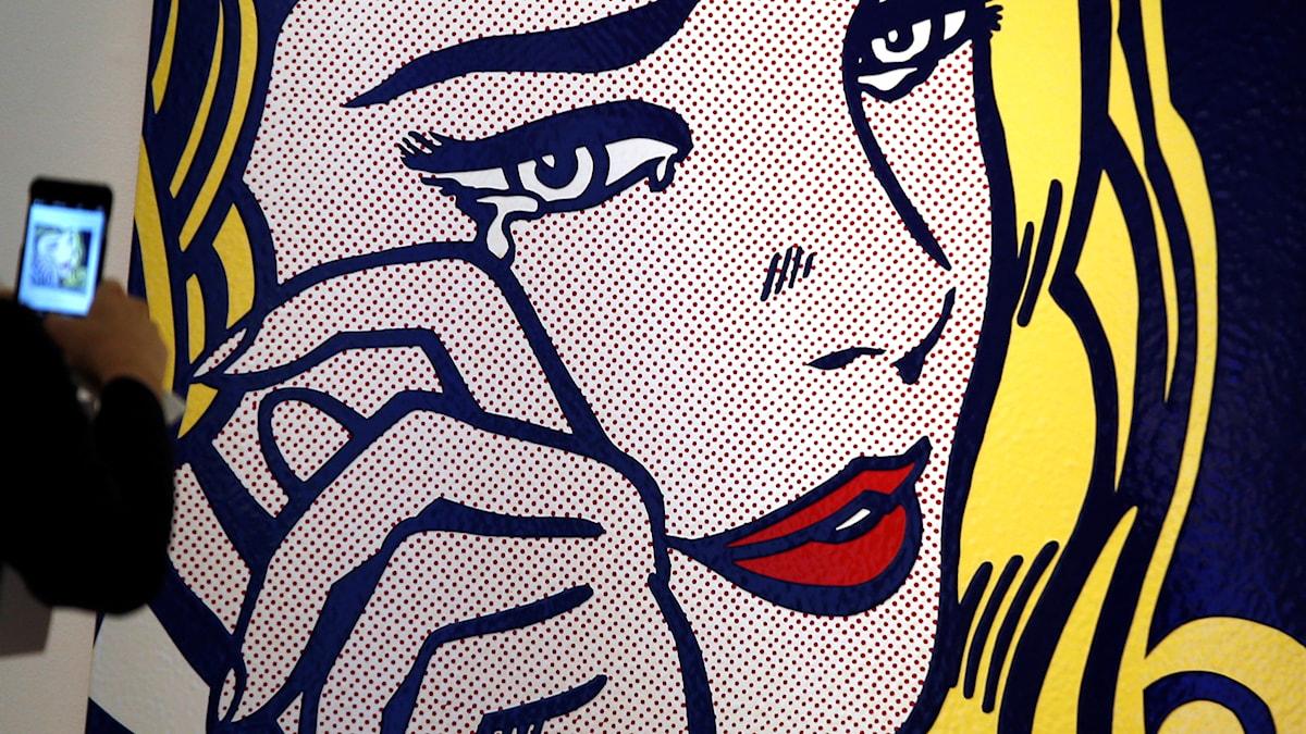 Roy Lichtenstein entitled 'Crying Girl' 1964