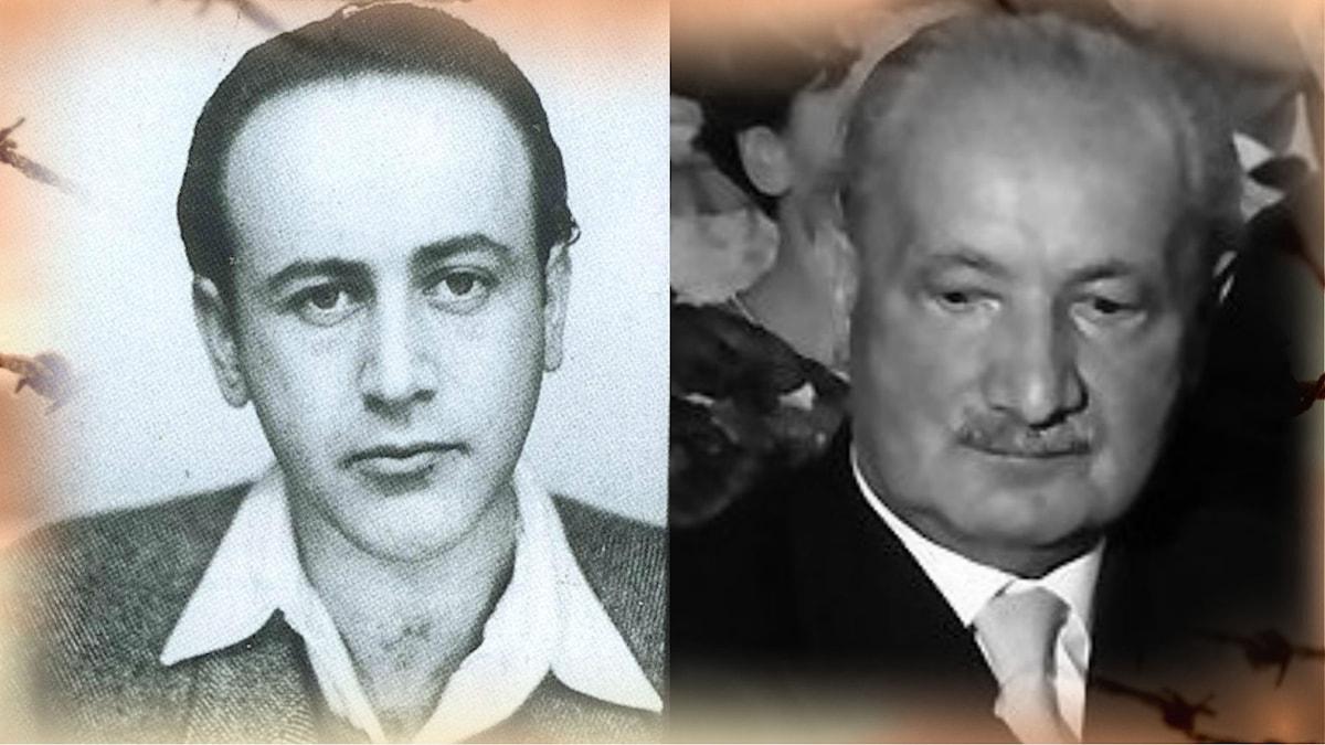 Paul Celan och Martin Heidegger.