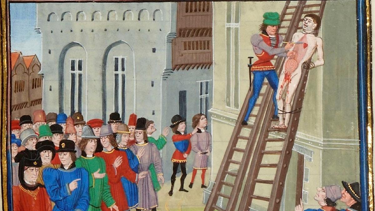 Avrättningen av Hugh Despenser den yngre.