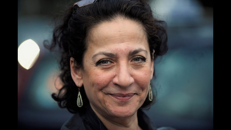 Författaren Hoda Barakat.